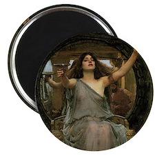 Circe by JW Waterhouse Magnet