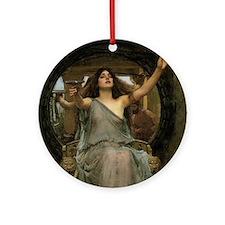 Circe by JW Waterhouse Round Ornament