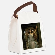 Circe by JW Waterhouse Canvas Lunch Bag