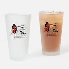 Top Hat Barock Pintos Logo Drinking Glass