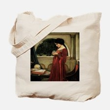 Crystal Ball by JW Waterhouse Tote Bag