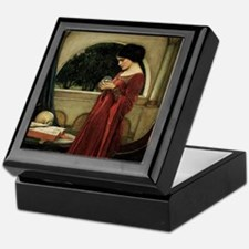 Crystal Ball by JW Waterhouse Keepsake Box