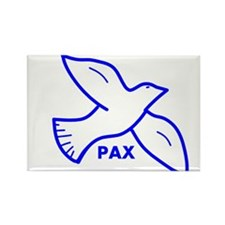 Dove with Pax (Latin for peace) Magnets