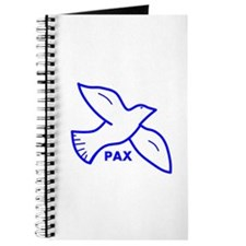 Dove with Pax (Latin for peace) Journal