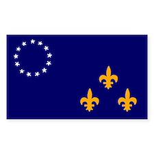 Louisville Flag sticker