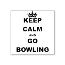 KEEP CALM AND GO BOWLING Sticker