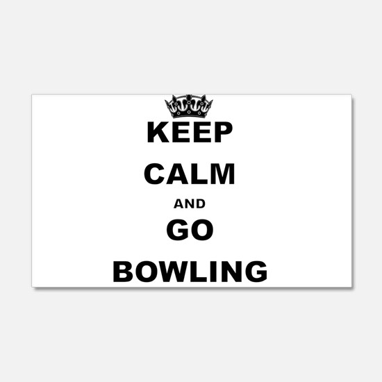 KEEP CALM AND GO BOWLING Wall Decal