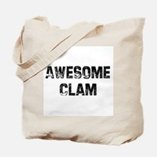 Awesome Clam Tote Bag