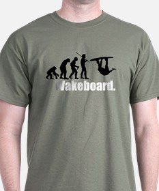 Wakeboarder's Evolution T-Shirt