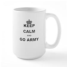 KEEP CALM AND GO ARMY. Mugs