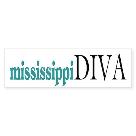 Mississippi Diva Bumper Sticker