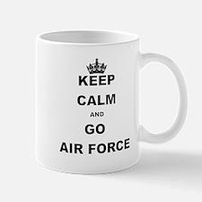 KEEP CALM AND GO AIRFORCE Mugs