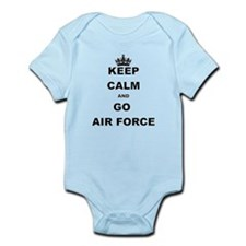 KEEP CALM AND GO AIRFORCE Body Suit