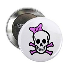 Ms. Skull Button