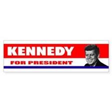 Kennedy for President 1960 Bumper Bumper Sticker