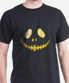Halloween Pumpkin Face 4 T-Shirt
