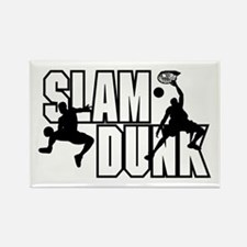 Slam Dunk Rectangle Magnet