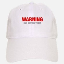 warning-VODKA-HEL-RED-GRAY Baseball Baseball Baseball Cap