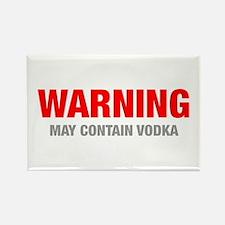 warning-VODKA-HEL-RED-GRAY Magnets