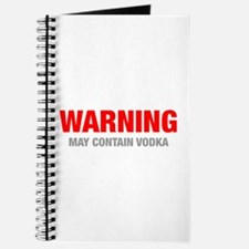 warning-VODKA-HEL-RED-GRAY Journal