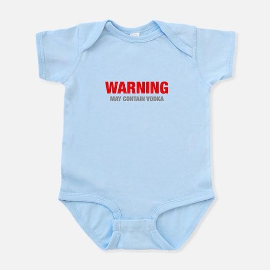 warning-VODKA-HEL-RED-GRAY Body Suit