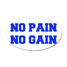 NO-PAIN-FRESH-BLUE Wall Decal