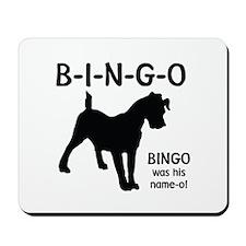 B-I-N-G-O Mousepad