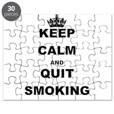 KEEP CALM AND QUIT SMOKING Puzzle