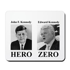 Hero - Zero Mousepad