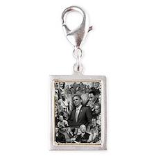 Great Black Leaders Silver Portrait Charm