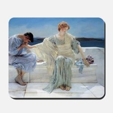 Alma Tadema Ask Me No More Mousepad