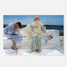 Alma Tadema Ask Me No Mor Postcards (Package of 8)