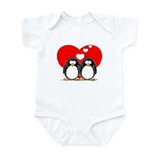 Loving Couple Infant Bodysuit