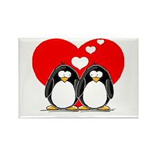 Loving Couple Rectangle Magnet