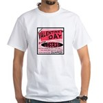 Valentine's Day for Losers White T-Shirt