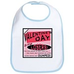Valentine's Day for Losers Bib
