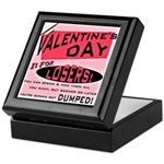 Valentine's Day for Losers Keepsake Box