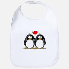 Love Penguins Bib