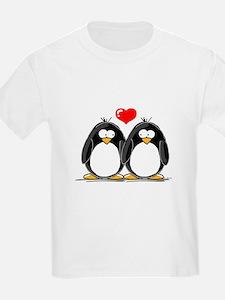 Love Penguins Kids T-Shirt