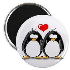 Love Penguins Magnet