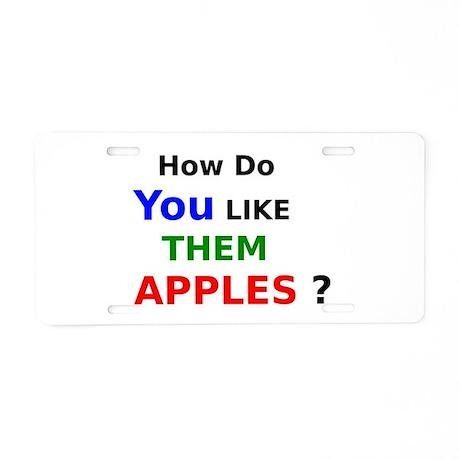 You like apple