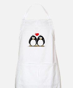 Love Penguins BBQ Apron