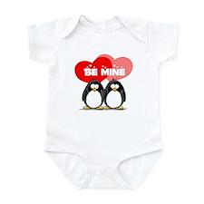 Be Mine Penguins Infant Bodysuit