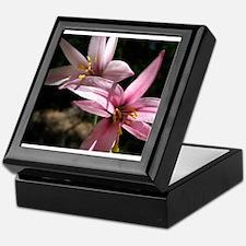 Pink Lily Keepsake Box