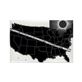 2017 solar eclipse usa Magnets