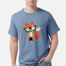 Funny Kids fox Mens Comfort Colors Shirt