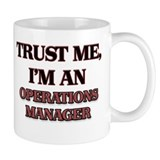 Operations manager Small Mugs (11 oz)