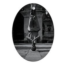 Shaolin Master Oval Ornament