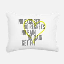 Heart Quotes Rectangular Canvas Pillow
