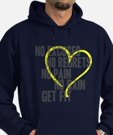 Heart Quotes Hoodie